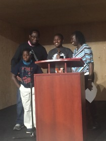 Moyo and his family